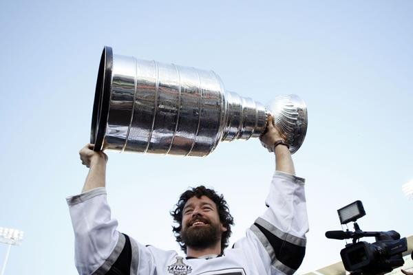 Justin Williams has appeared in 47 playoff games with the Kings, including 38 the last two seasons.