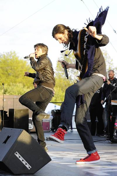 Sean Foreman and Nathaniel Motte of 3OH!3 will perform Nov. 7 at House of Blues in Orlando.