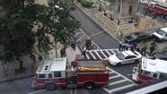 No device located after explosion reported near courthouse