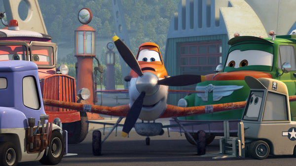 "A scene from ""Planes"" from Disney, which plans to significantly increase its stock buyback program."