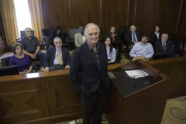 "Alan Alda in ""Brains on Trial"""