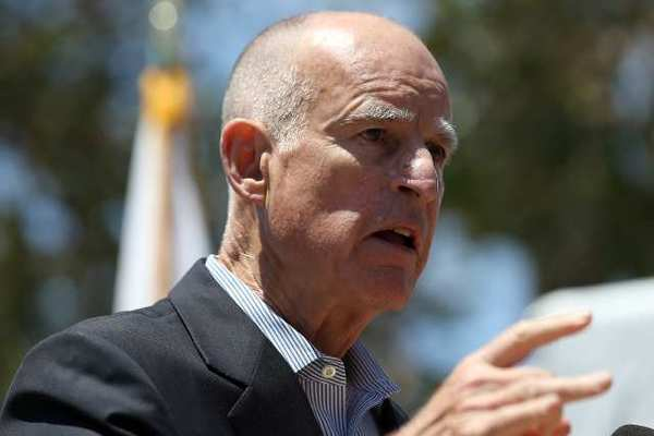 Gov. Jerry Brown, shown in 2012, typically refuses to tip his hand before announcing the signing or vetoing of a bill. But this week he disclosed his support for two measures heading to his desk.