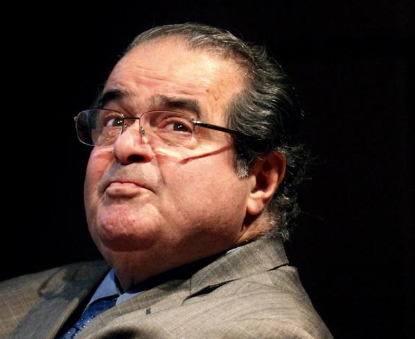 Supreme Court Justice Antonin Scalia's question about broccoli and Obamacare was broadcast on the same day he asked it.