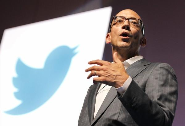 Twitter has filed for an IPO. Above, Chief Executive Dick Costolo.