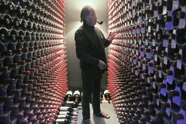 """A Chinese billionaire's $60-million wine cellar from the documentary """"Red Obsession."""""""