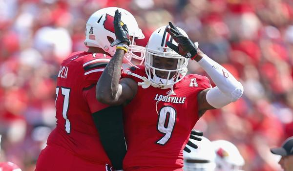 Louisville looks to stay undefeated on the season when they line up to play Kentucky on Saturday.