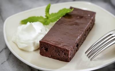 Gale's Restaurant's flourless chocolate cake