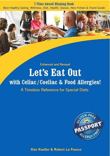 Let's Eat Out with Celiac/Coeliac & Food Allergies