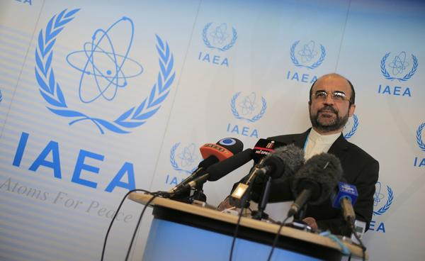 Reza Najafi at IAEA annual meeting