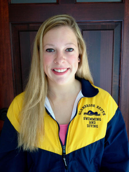 Glenbrook South swimmer Bailey Moynihan was a part of two record-breaking relay teams last season.
