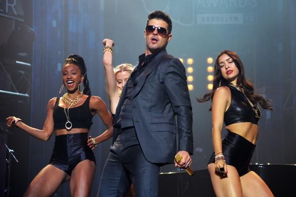 "The singer-songwriter behind ""Blurred Lines"" brings his tour to Virginia. Special guests include Jessie J and DJ Cassidy."