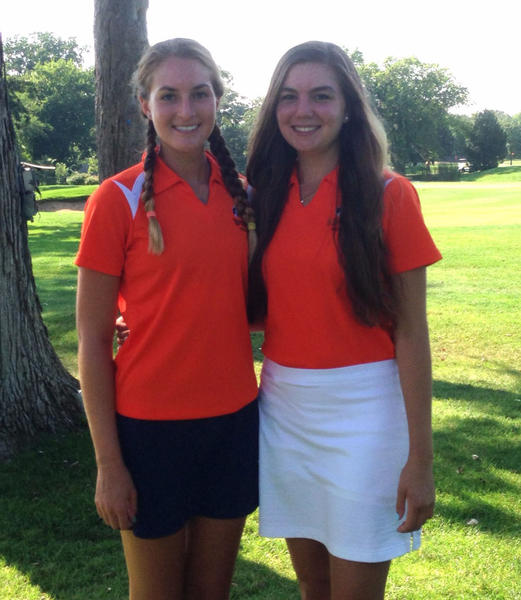 Oak Park and River Forest golfers Mia Shapiro and Emma Youman have helped their team make school history.