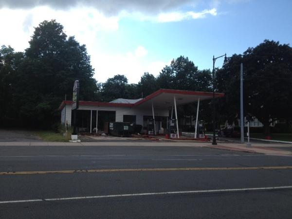 The owner is renovating this property at 770 Main St., preparing to open a new gasoline station/convenience store.