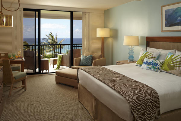 "New ""Epic"" rooms with ocean views await visitors to the North Shore of Oahu."