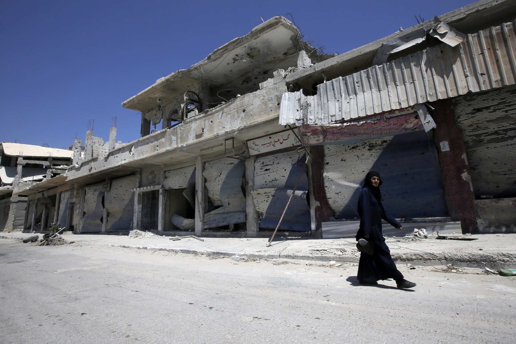 Rebuilding in Syria - Destruction in Syria