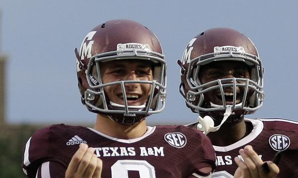 Texas A&M quarterback Johnny Manziel will see plenty of TV time Saturday when the Aggies play host to national title contender Alabama.