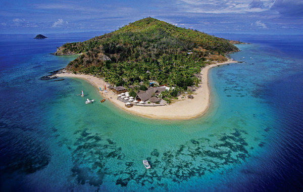 Castaway Island is a private escape embodying the heart and soul of the South Pacific. The island's 174 acres are covered in tropical rain forest, surrounded by white sand beaches, vibrant coral reefs and azure waters.