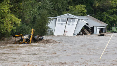 Colorado flood: One family's harrowing, miles-long escape on foot