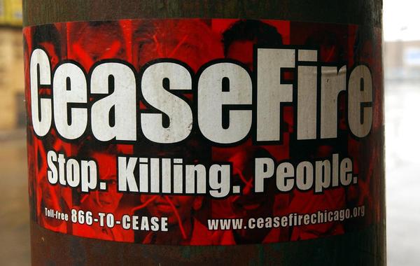 CeaseFire sticker