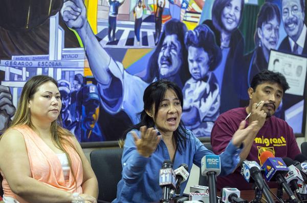Bertha Diaz, Araceli Sanchez, Antonio Bernabe