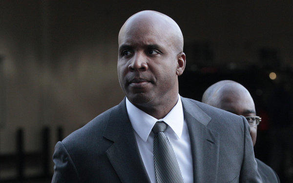 Former baseball star Barry Bonds, in a March 2011 file photo, says he wants to begin serving his sentence on an obstruction of justice conviction.