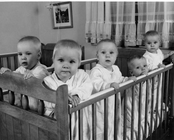 The Fischer quintuplets were the first sent of quintuplets to be born and survive in the U.S. The five siblings turn 50 today.