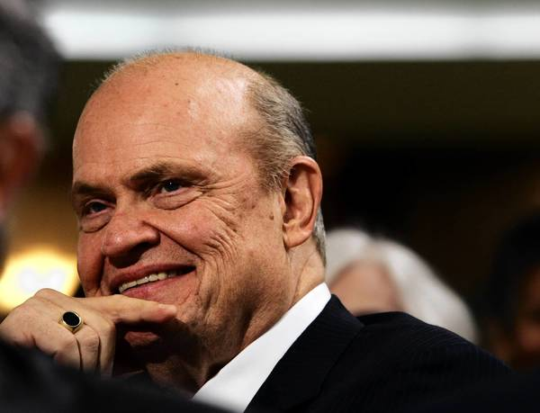 Fred Thompson, the former Tennessee senator, is one of the TV pitchmen who aggressively hawk the FHA's insured reverse-mortgage program for seniors.