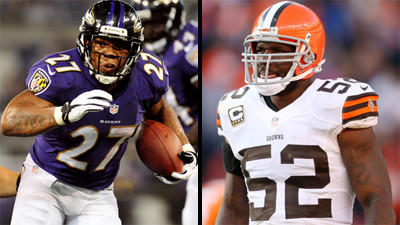 Mike Preston's Ravens-Browns matchups to watch on Sunday