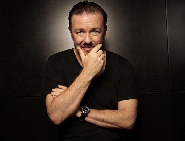 Ricky Gervais had to be censored on Piers Morgan's show