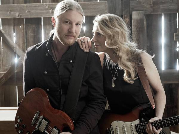 Derek Trucks and Susan Tedschi of Tedeschi Trucks Band, which plays Symphony Hall in Allentown Sept. 19.