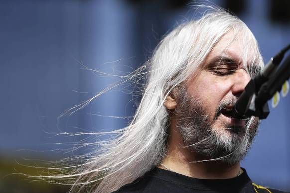 J Mascis of Dinosaur Jr. performs.