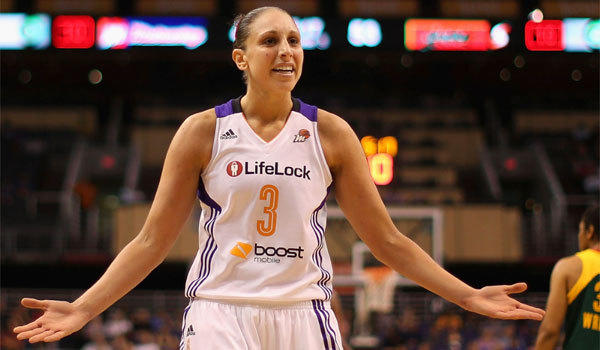 Diana Taurasi is averaging 20.7 points, 6.3 assists and 4.2 rebounds a game for the Mercury.