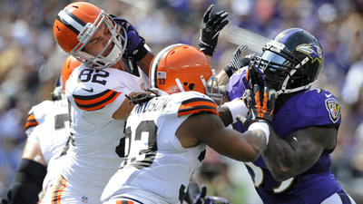 Ravens do just enough for 14-6 victory over Cleveland Browns