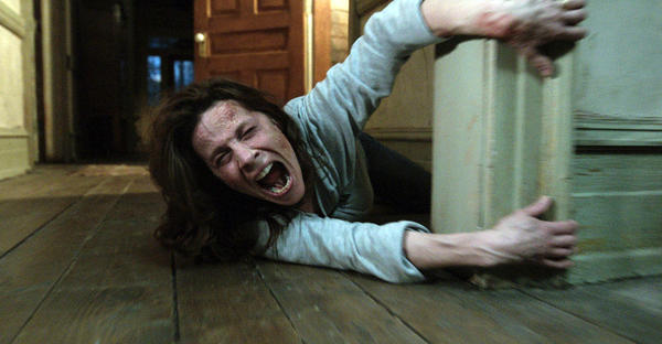 """Lili Taylor stars in """"The Conjuring,""""which has been one of the summer's true sensations."""