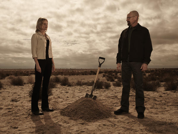 "Skyler (Anna Gunn) and Walter (Bryan Cranston) finally see their marriage disintegrate in the latest episode of ""Breaking Bad."""
