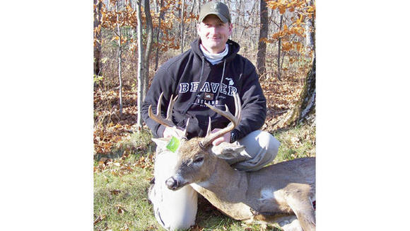 Paul Johnson, president of the Beaver Island Conservation Club, has practiced quality deer management for years on his private property.