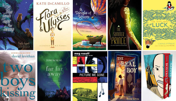 The 10 books on the long-list for the 2013 National Book Award for young people's literature