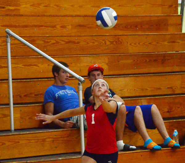 Boyne City senior setter Heather Nichols finished with 121 assists, 15 blocks and six aces in helping lead the Ramblers to the championship match Saturday at the Petoskey Volleyball Invitational, where the Ramblers finished runner-up to champion Onaway.