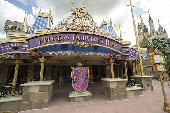 The Princess Fairytale Hall is set to open in Fantasyland at Walt Disney World's Magic Kingdom in the space once occupied by Snow White's Scary Adventures