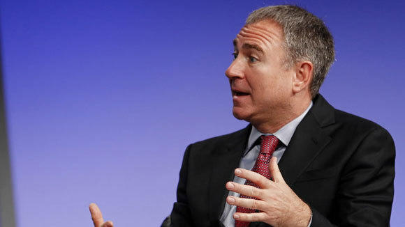 Ken Griffin, founder and CEO of Citadel LLC, speaks at the Milken Institute Global Conference in Beverly Hills, Calif., in April.