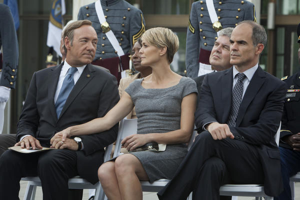 'House of Cards' Emmy wins