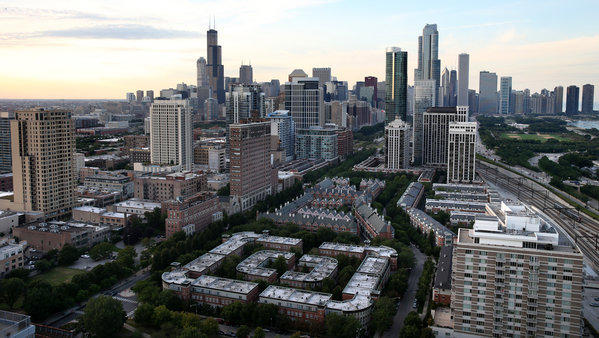 The Chicago area economy expanded last year but slightly lagged the average growth of metro areas nationwide.