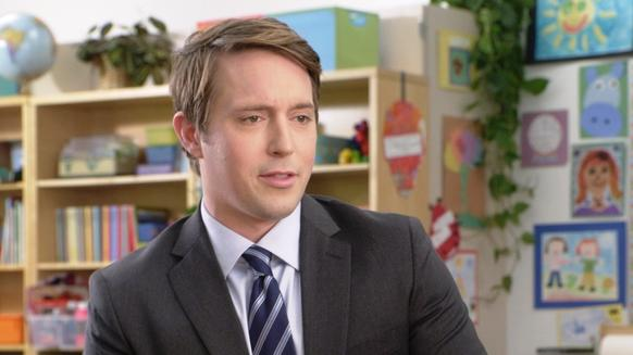 "Beck Bennett is most noted for his role as the deadpan interviewer in ads for AT&T's ""It's not complicated"" campaign. He also co-founded the ""Good Neighbor"" comedy group with fellow ""SNL"" freshman Kyle Mooney."