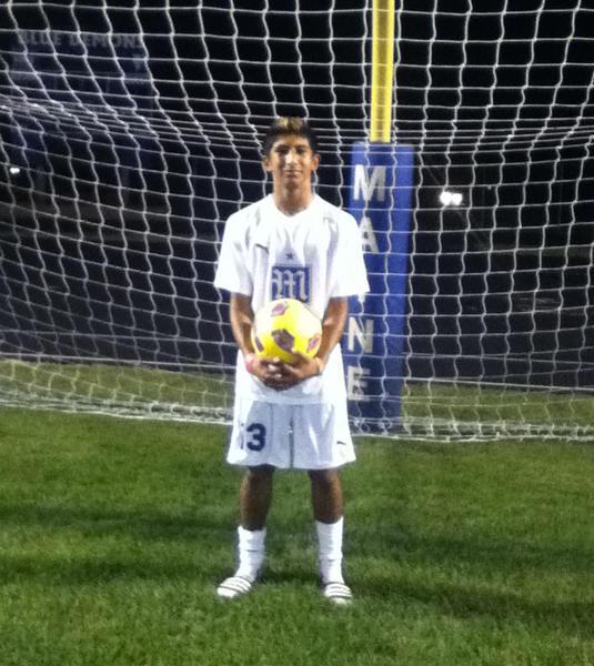 Maine East soccer player Matt Coronado plans to help his team achieve a winning record this season.