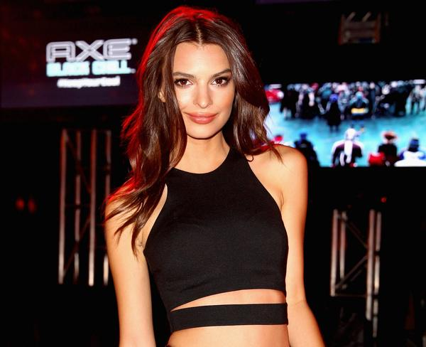 "Model and actress Emily Ratajkowski, seen here attending an event at this summer's Comic-Con convention, has been cast in David Fincher's adaptation of ""Gone Girl."""