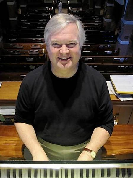 John Bicknell is marking his 40th anniversary as the organist and choirmaster at Trinity Episcopal Church in Highland Park.