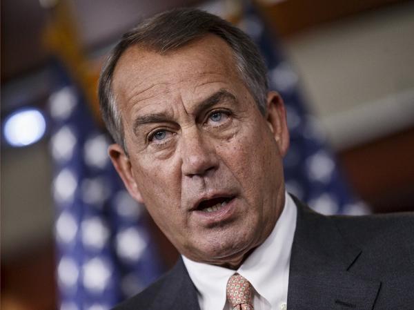 House Speaker John A. Boehner of Ohio.