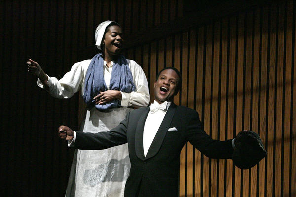 "The soul-stirring voices of Karan Kendrick and Elijah Rock bring the biography of trailblazing tenor Roland Hayes to life in ""Breath and Imagination."""