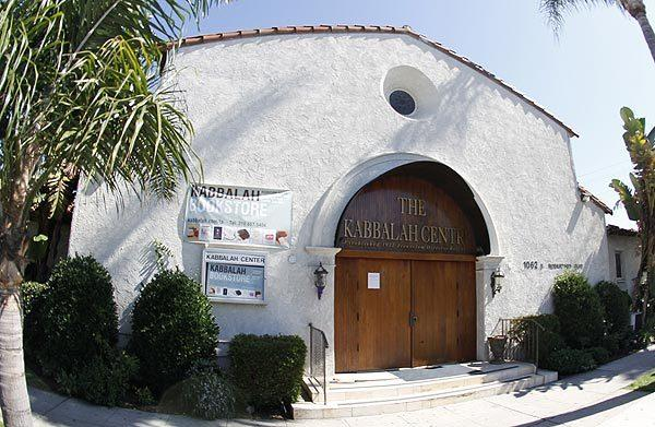 This building on Robertson Boulevard near the heart of Los Angeles' orthodox Jewish community is the headquarters of the Kabbalah Centre's empire.
