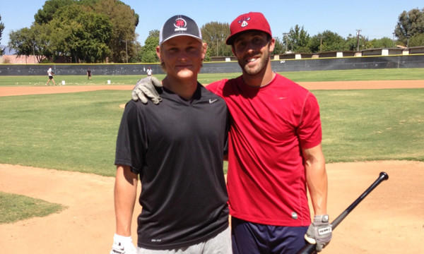 Former Hart standouts Pat Valaika, left, and Steve Susdorf, won national titles at UCLA and Fresno State.
